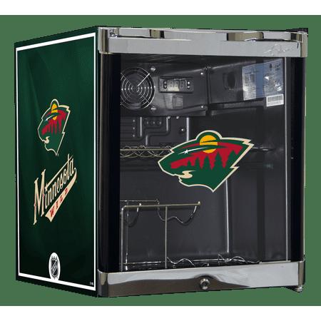NHL Wine Cooler 1.8 cu ft- Minnesota Wild