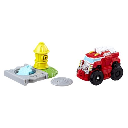 Playskool Heroes Transformers Rescue Bots Flip Racers Heatwave the Fire-Bot - Rescue Bot Heatwave