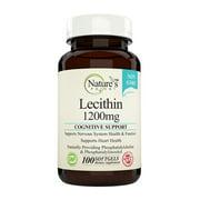 Nature's Potent™- Lecithin 1200 mg, Non-GMO Supplement