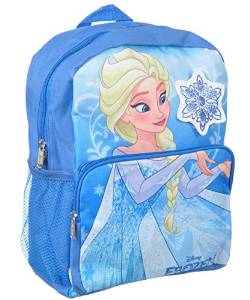 "Ice Snowflake Disney Frozen Princess Elsa 14/"" School Backpack Girls Medium Bag"