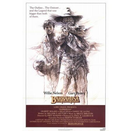 Barbarosa  1982  11X17 Movie Poster