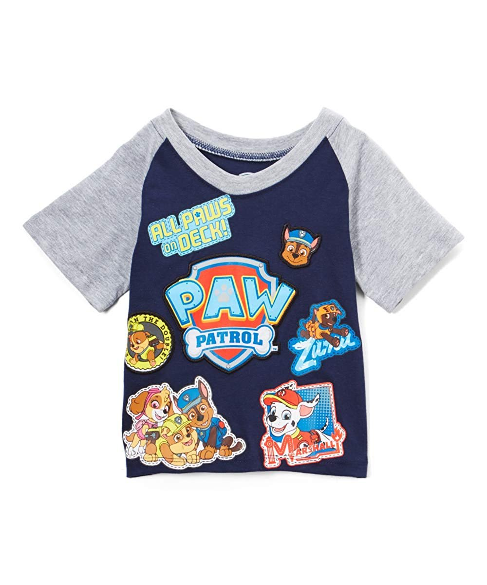 Paw Patrol All Paws on Deck Toddler Little Boys Shirt