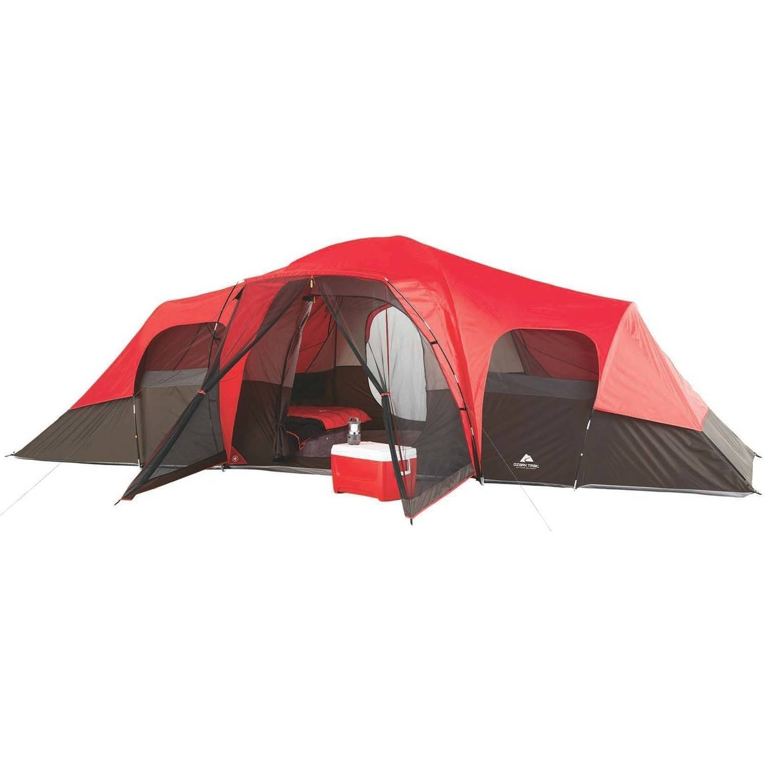 Ozark Trail 10-Person Family Tent  sc 1 st  Walmart.com & Ozark Trail 10-Person Family Tent - Walmart.com