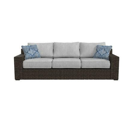 Bloomsbury Market Barnfield Patio Sofa With Cushions