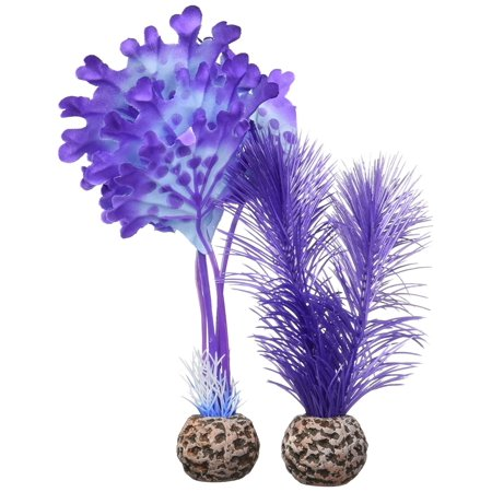 - 46079.0 Kelp Set Small Purple Aquariums, Give your biorb a colorful appeal with these Plastic and silk kelp Plants By biOrb