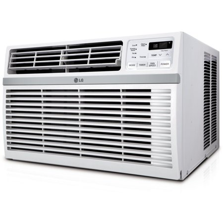 LG Energy Star Rated 6,000 BTU Window Air Conditioner with Remote Control in