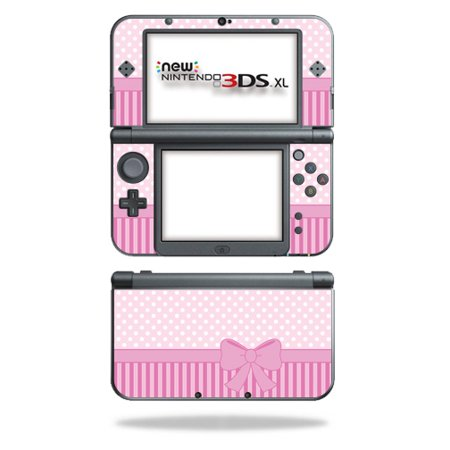 MightySkins Protective Vinyl Skin Decal for New Nintendo 3DS XL (2015) Case wrap cover sticker skins Pink