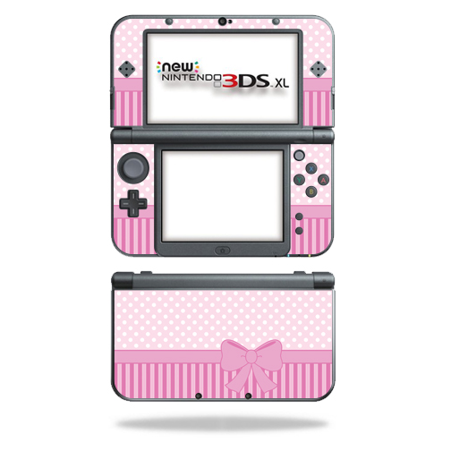 MightySkins Protective Vinyl Skin Decal for New Nintendo 3DS XL (2015) Case wrap cover sticker skins Pink Present
