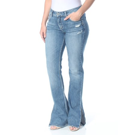 SILVER Womens Blue High Rise Curvy Slim Jeans  Size: 26