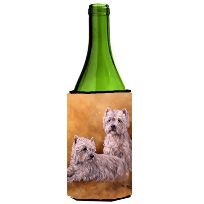 Westies by Michael Herring Wine Bottle Can cooler Hugger