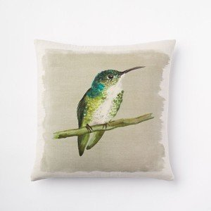 Deyou West Elm Emerald Hummingbird Pillowcase Pillow Case Cover Two Sides Printing Size 18X18 Inch