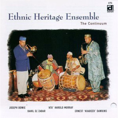 """Ethnic Heritage Ensemble: Ernest """"Khabeer"""" Dawkins (tenor & alto saxophones, percussion); Joseph Bowie (trombone, percussion); Kahil El'Zabar (drums, percussion, African thumb piano, vocals); """"Atu"""" Harold Murray (percussion, vocals).<BR>Recorded at Riverside Studio, Chicago, Illinois on March 1 & 2, 1997.  Includes liner notes by Neil Tesser."""