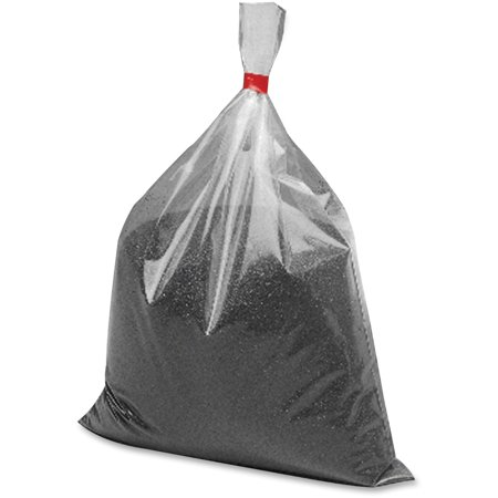 Rubbermaid Chrome Urn - Rubbermaid Commercial, RCPB25, Urn Sand Bag, 1 Pack, Black