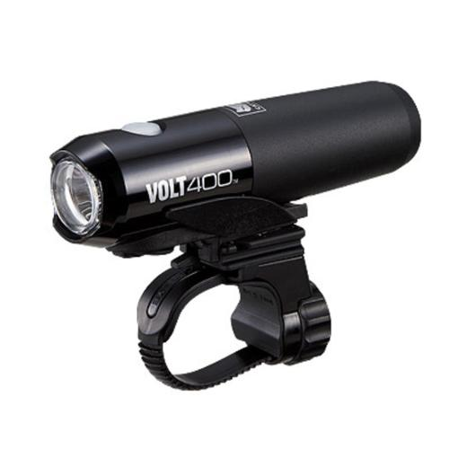 CatEye VOLT 400 USB Bicycle Head Light w/Helmet Mount - HL-EL461RC (Black)
