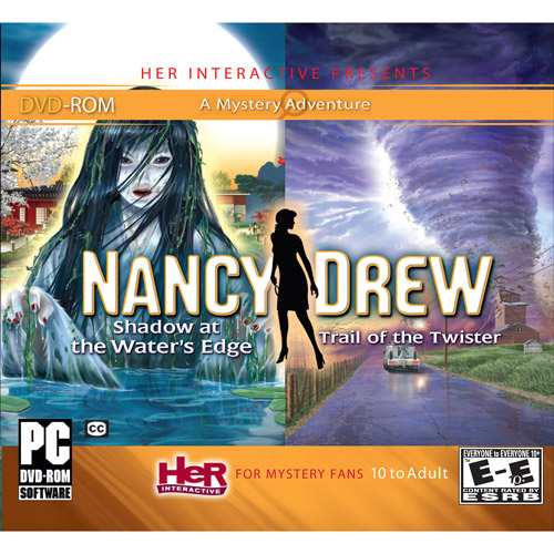 Nancy Drew 2 Pack Trail of the Twister, and Shadow at the Water's Edge (PC)