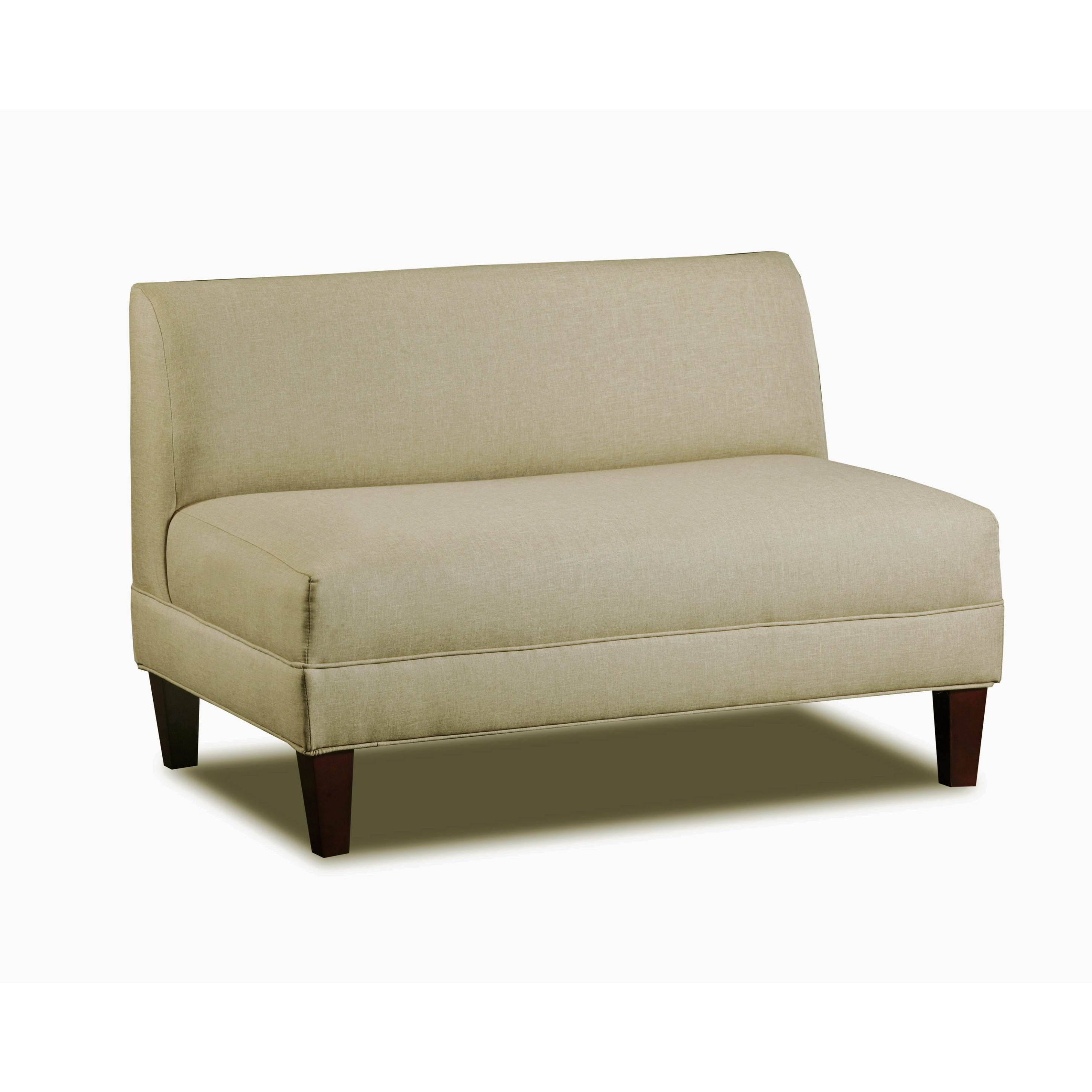 Carolina Accents Briley Sand Armless Loveseat