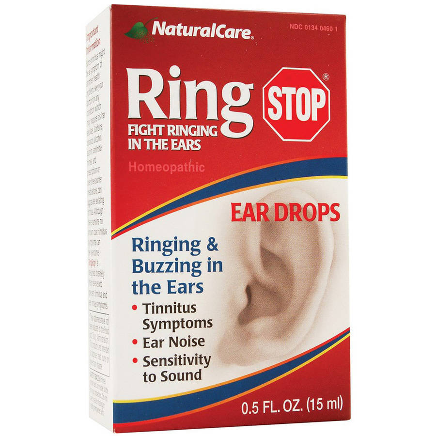 Natural Care Ringstop Ear Drops, 0.5 OZ