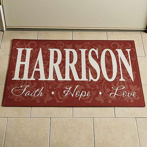 """Personalized Doormat 17"""" x 27"""""""