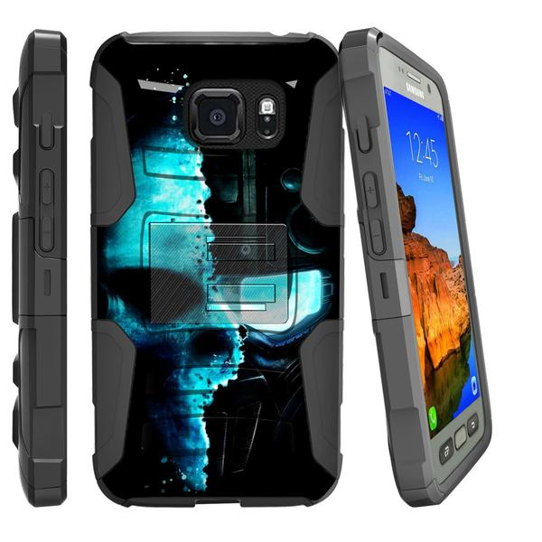 Samsung Galaxy S6 Case | G920 Case [ Clip Armor ] Rugged Impact Defense Case with Built in Kickstand and Holster - Demon Cyborg