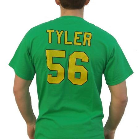russ tyler #56 mighty ducks movie jersey t-shirt knuckle puck costume kenan gift