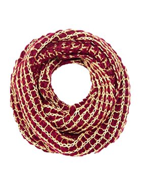 Peach Couture Winter Warm Thick Chunky Knit Cozy Infinity Loop Cowl Scarves