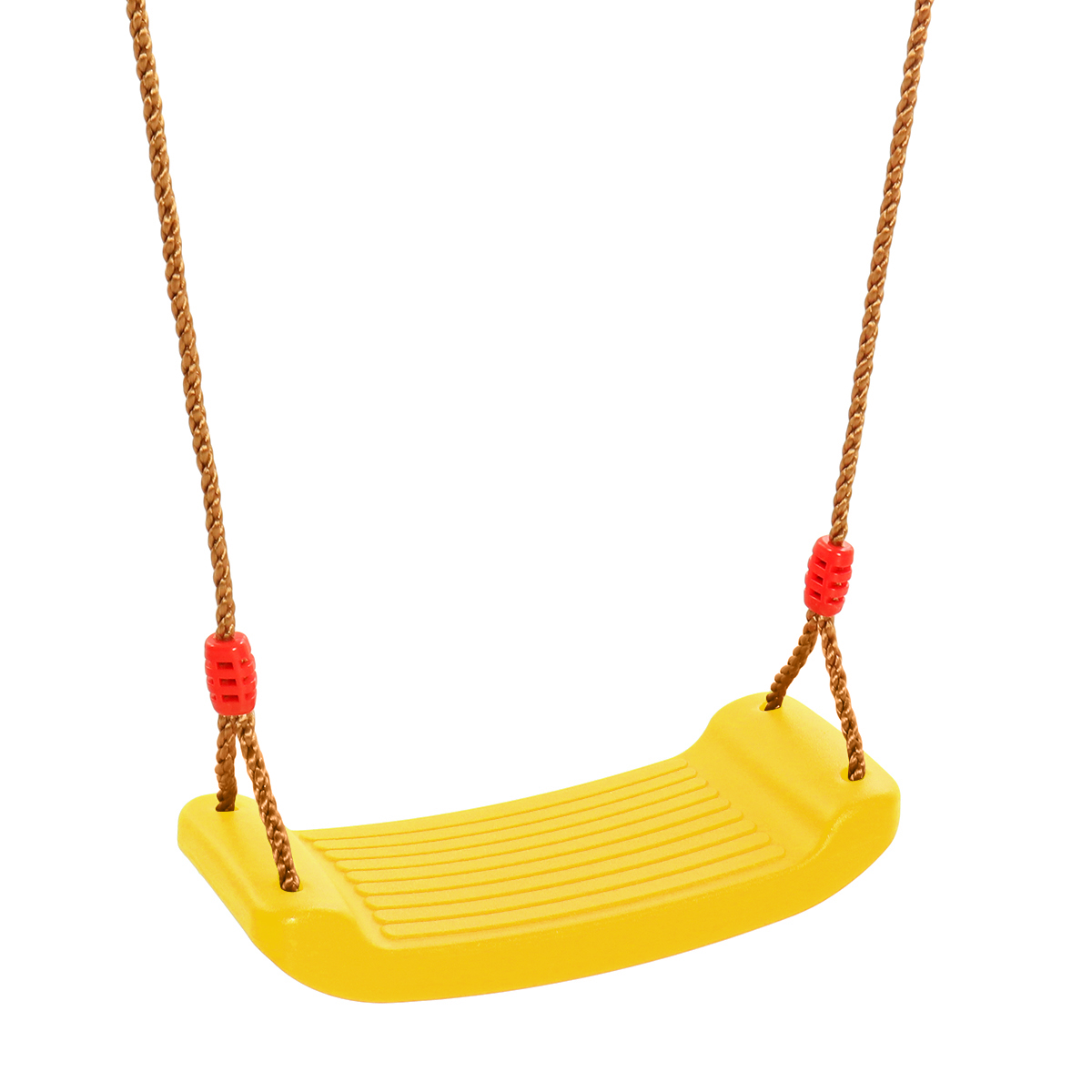 Cateam Swing seat Red for Kids and Adults with Length Control Hinge Triangle carabiners Included Ninja line Ready 220lb Load Playground Swing Set Accessories Replacement