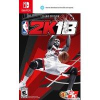 NBA 2K18 Legend Edition, 2K, Nintendo Switch, 710425459559