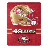 San Francisco 49ers The Northwest Company 55'' x 70'' Minimal Silk Touch Throw - Scarlet - OSFA