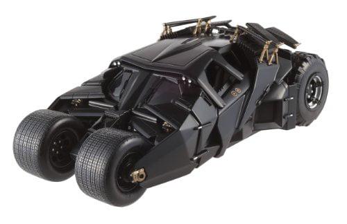 BATMOBILE TUMBLER Batman Dark Knight Hot Wheels Elite Limited Edition 1:18 Scale Collectible Die Cast Car... by Mattel