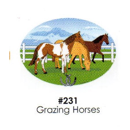 Grazing Horses Cake Decoration Edible Frosting Photo Sheet ...