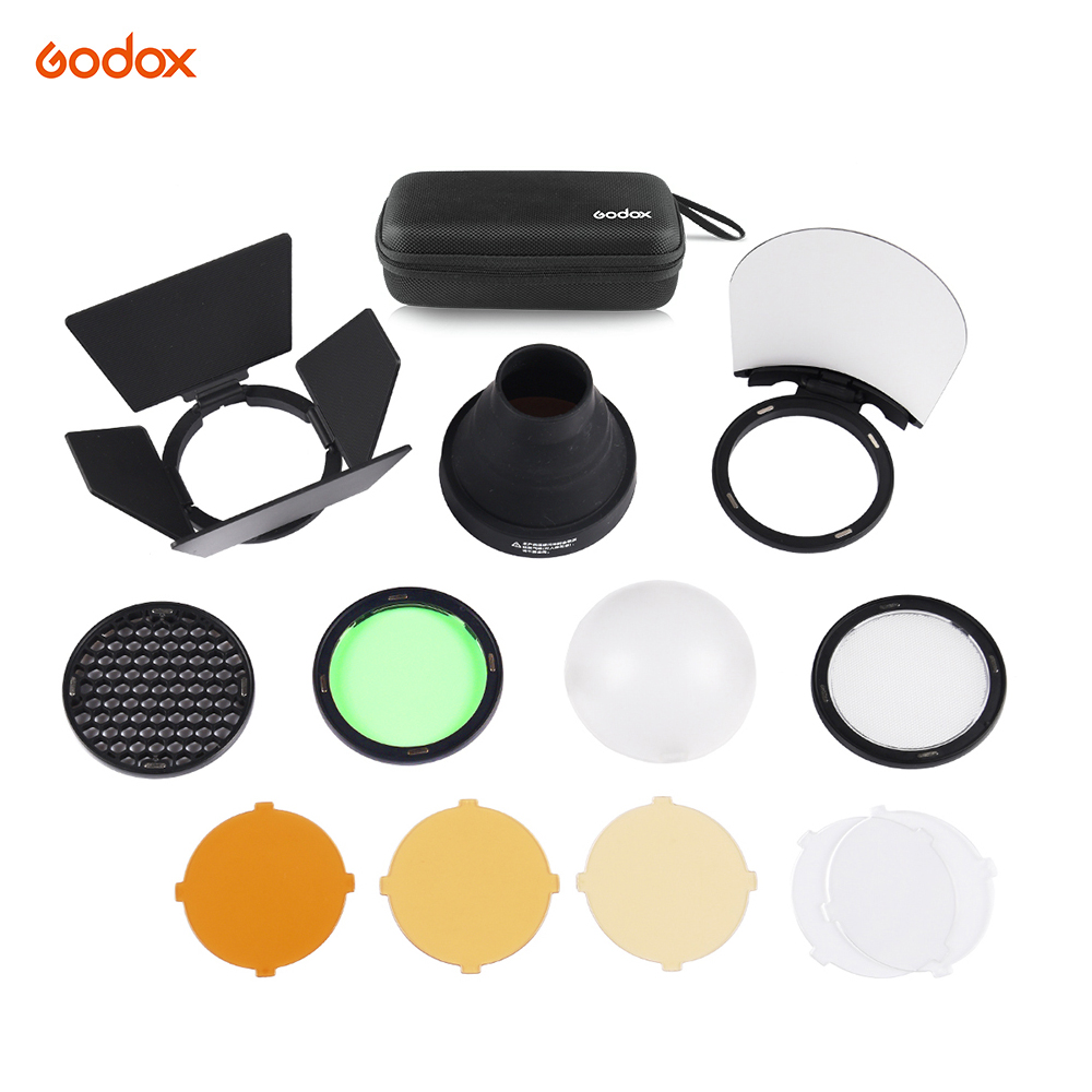 200W Strong Power Lightweight and Portable Spiral Flash for Godox AD200,AD200Pro Pocket Flash Strobe Natural Light Effects Godox H200R AD200 Round Head Flash Extension