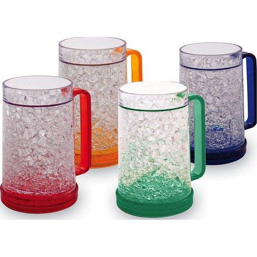 Cypress Home 16 oz. Plastic Pint Glass (Set of 4