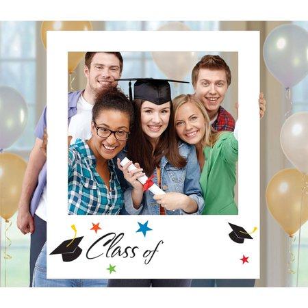 Grad Polaroid Frame Prop - Graduation Props