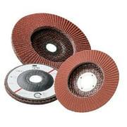 3M 747D Flap Disc,T27,4-1/2 x 7/8 In