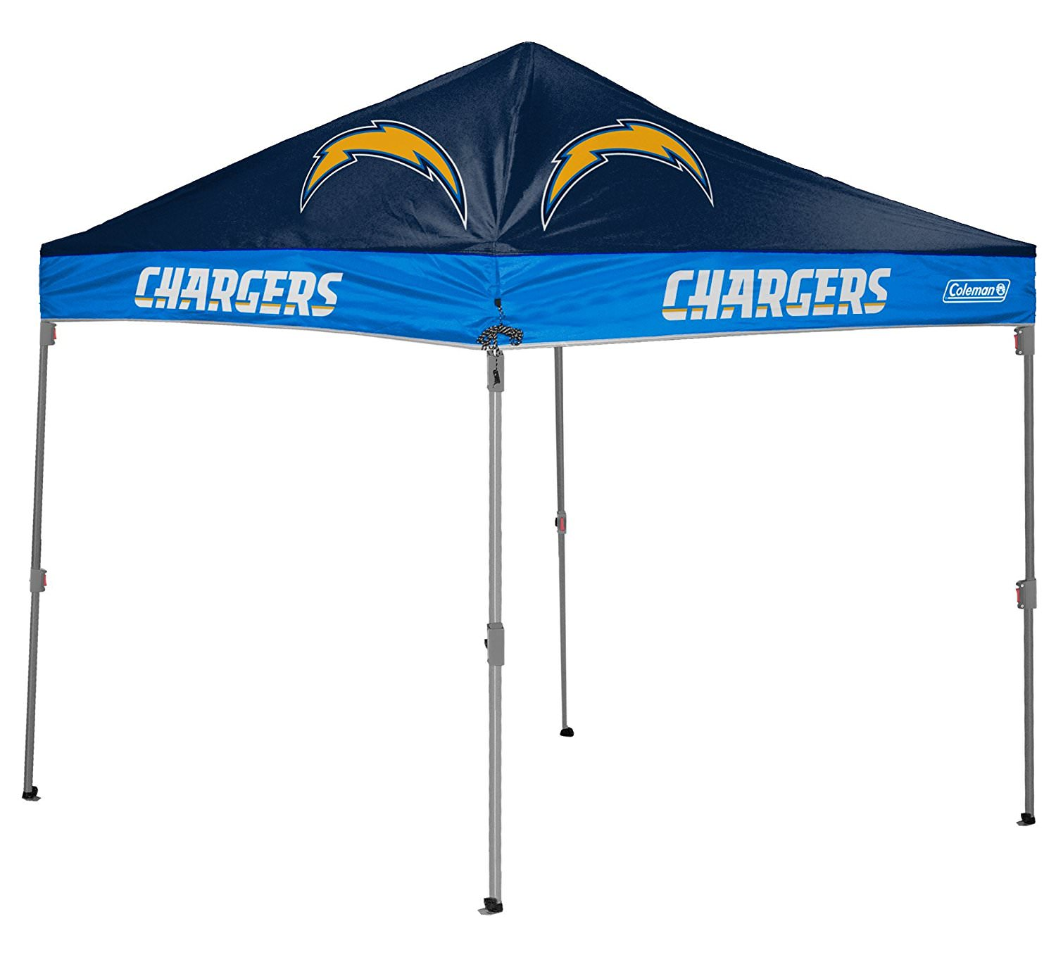Coleman San Diego Chargers 10' x 10' Straight-Leg Canopy