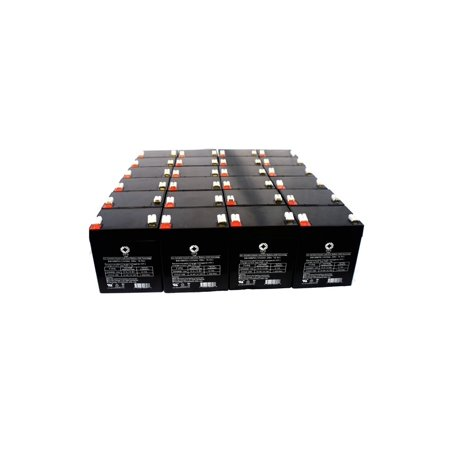 SPS Brand 12V 5 Ah Replacement Battery for MGE Pulsar Eclipse 250 UPS (50  PACK)