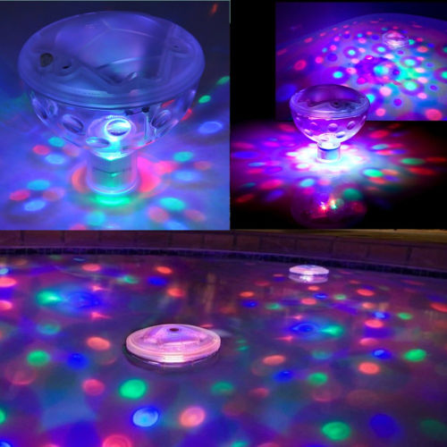 Underwater LED Light Remote Control Show Bath SPA Tub Swimming Disco Pool Party
