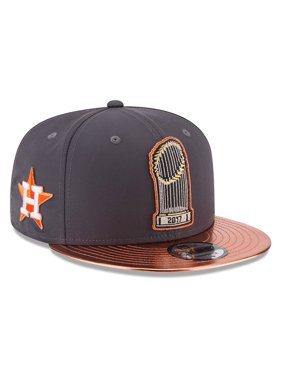 Product Image Houston Astros New Era 2017 World Series Champions Parade  9FIFTY Adjustable Snapback Hat - Graphite - ce16e21d0ee
