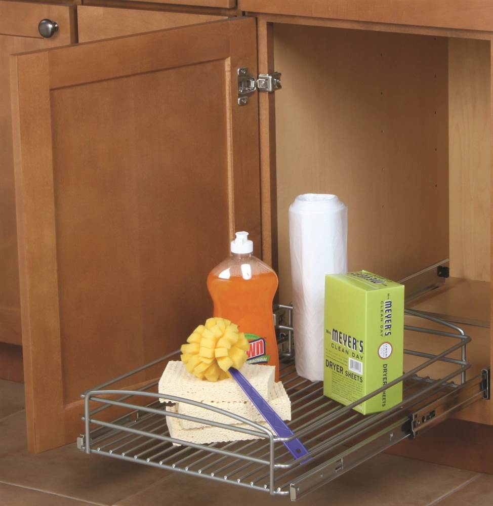 14 in. Pull-out Multi-Use Basket