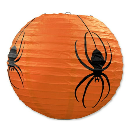 Club Pack of 18 Halloween Spider Hanging Paper Lantern Party Decorations - Halloween Party Clubs In Dc