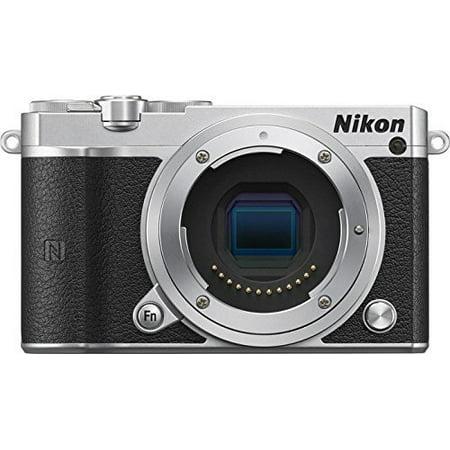 Nikon 1 J5 Mirrorless Digital Camera (Silver Body Only) (International Model) No