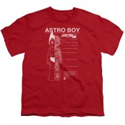 Astro Boy Schematics Big Boys Shirt
