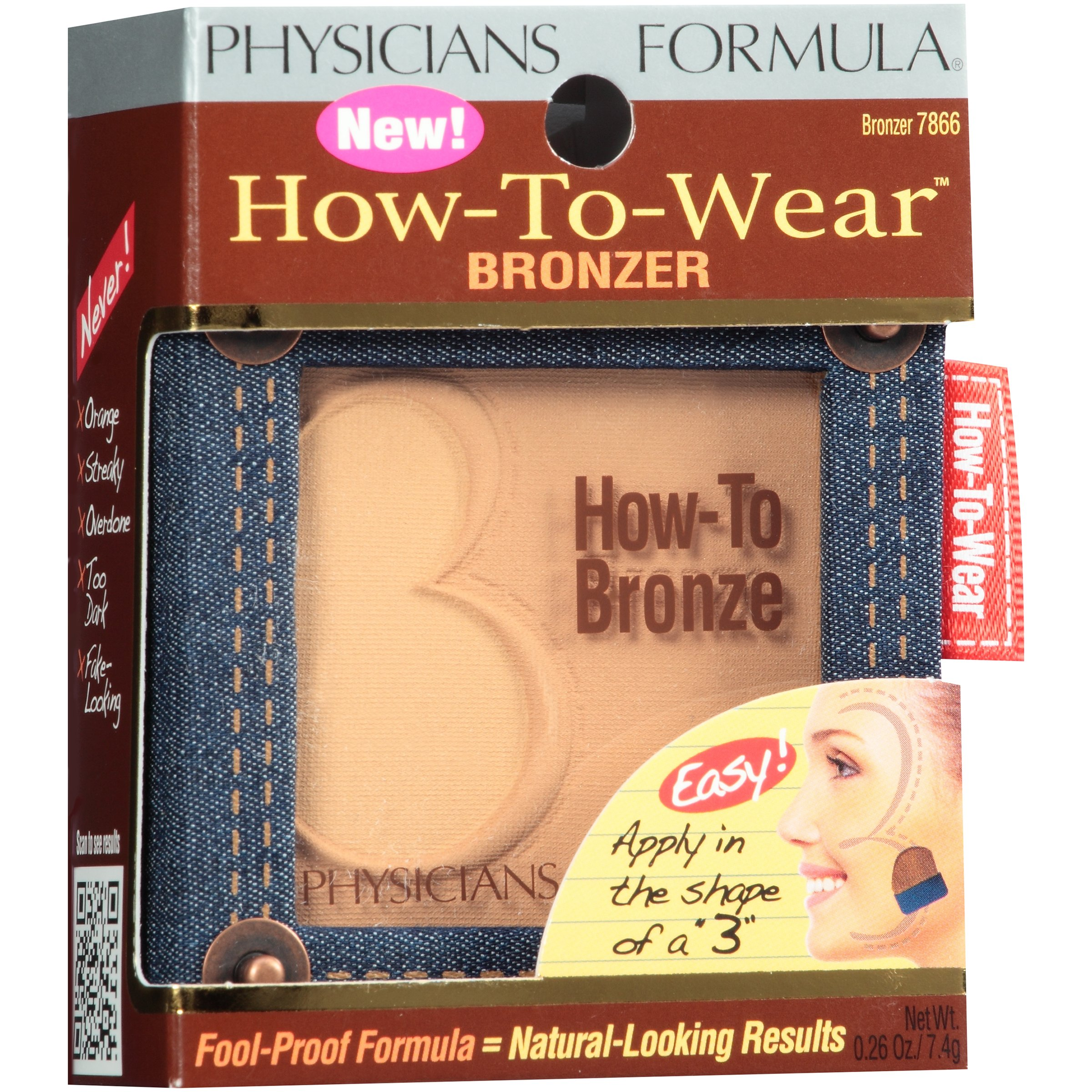 Physicians Formula How-To-Wear 2 Bronzer Bronzer 0.26 oz. Box