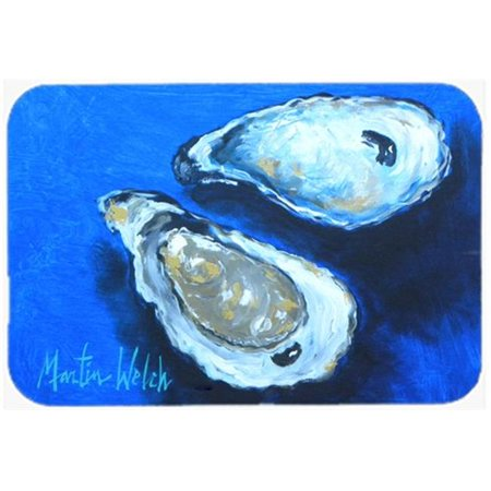 15 x 12 in. Oysters Seafood Four Glass Cutting Board - Large - image 1 of 1