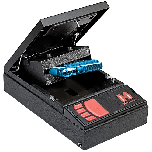 Hornady RAPiD Electronic RFID Steel Safe, Black