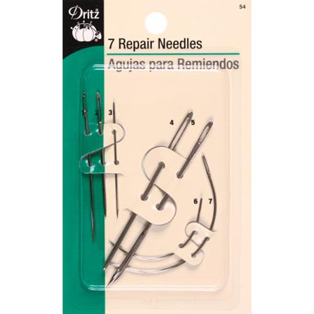 Repair Hand Needles -Assorted 7/Pkg