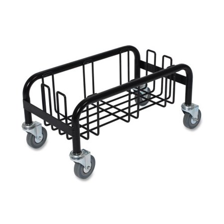 Genuine Joe Wall Hugger Container Dolly