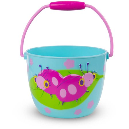 Melissa & Doug Sunny Patch Dixie and Trixie Ladybug Pail - Outdoor Toy for Kids (Melissa And Doug Sand Toys)