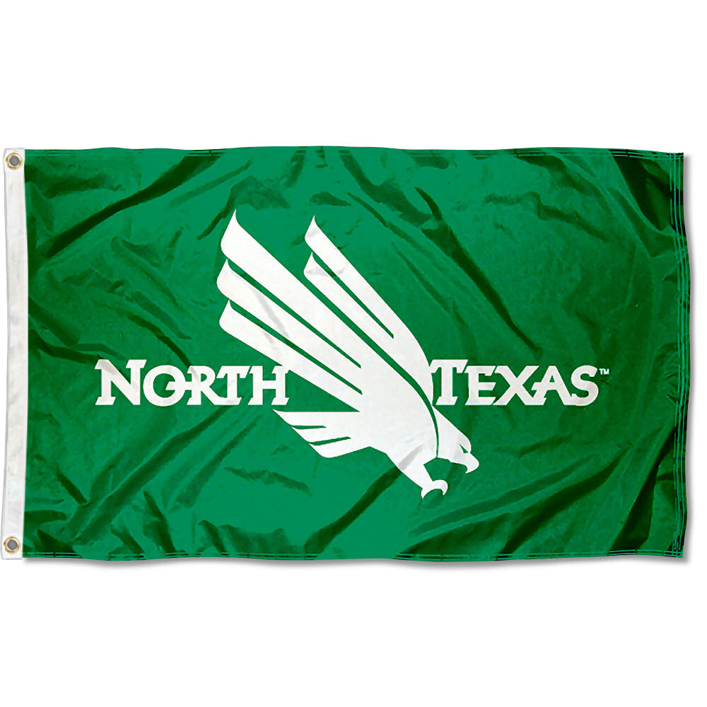 University of North Texas Mean Green Flag