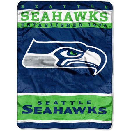 "NFL Seattle Seahawks 60"" x 80"" Raschel Throw by"
